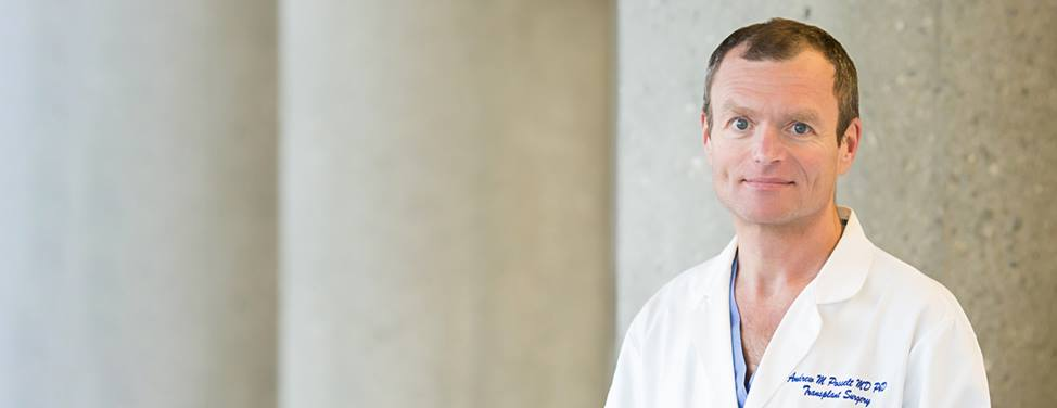 Dr. Andrew Posselt, bariatric and transplant surgeon