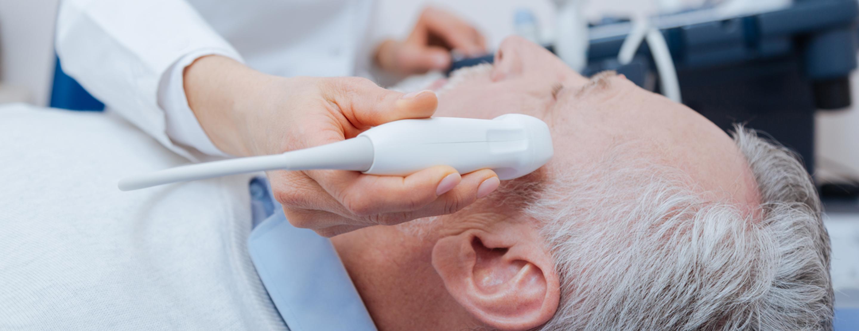 Transcranial Doppler ultrasound